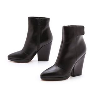 Vince Luisa Leather Booties